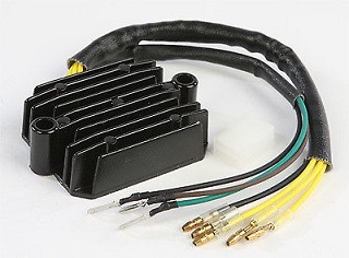 $425 99, 1974-1975 kawasaki kz400 kz 400 regulator rectifier